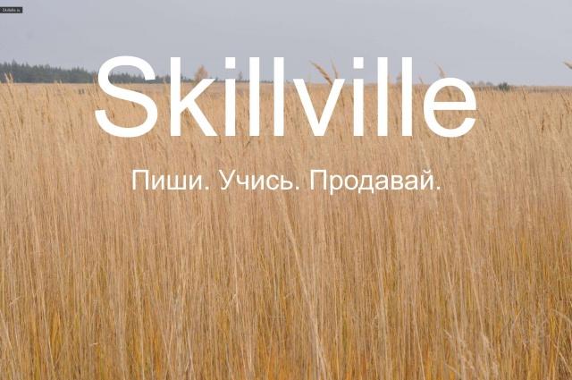 Рынок на Skillville!