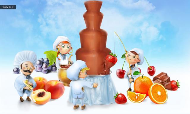 мастер класс по изготовлению конфет, сладкий мастер класс