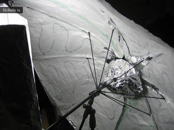 зонт и софтбокс