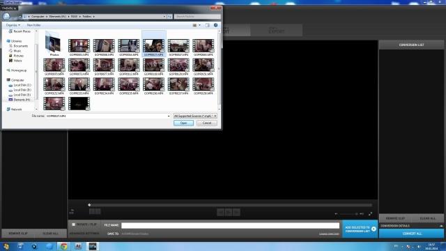 все необходимые видео файлы