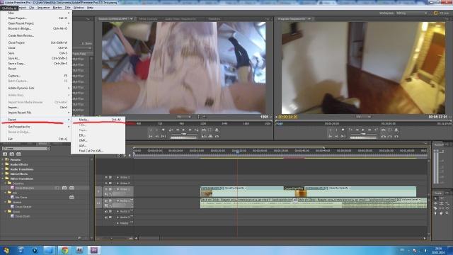 Сохранение видео (рэндеринг)