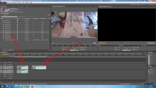 Перенос видео на временную шкалу со звуковой дорожкой и без