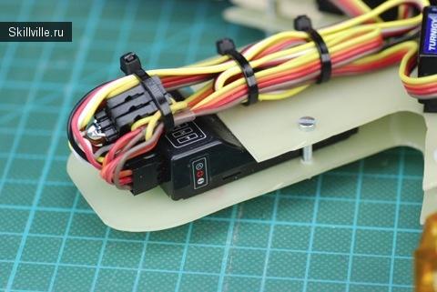Вот как я закрепил провода
