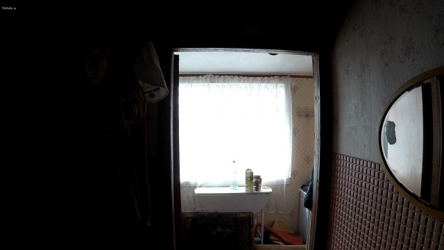 Выдержка 0. Светлое окно.