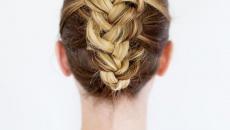 Прическа на длинные волосы: оригинальная коса
