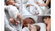 Коконы-гнезда для малышей BabyNest